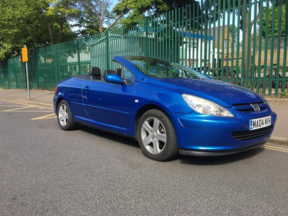peugeot 307 cc convertible for sale adslane. Black Bedroom Furniture Sets. Home Design Ideas